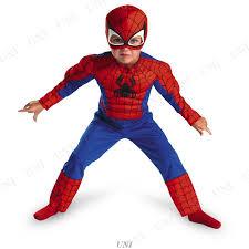 スパイダーマンのコスプレ1